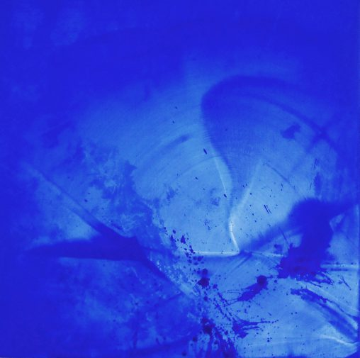 Blue universe imaginal art movement Erica Hinyot art exhibitions Brussels Berlin