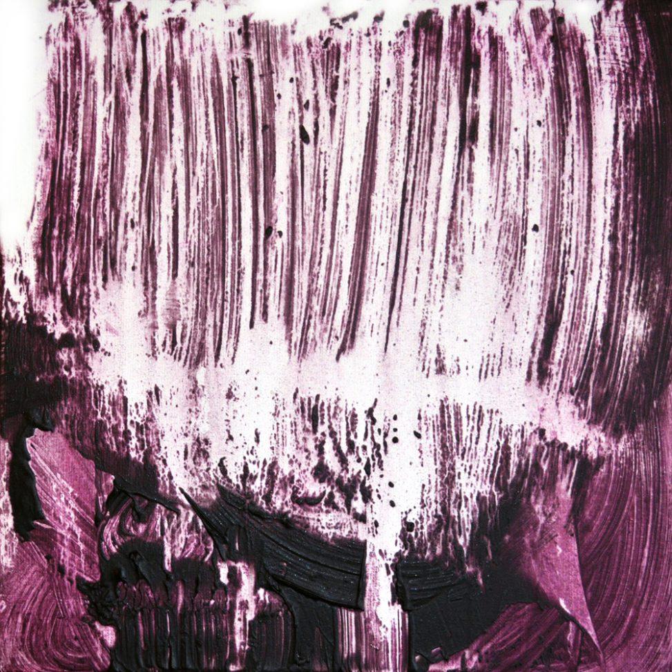 Contempory organic art abstract lyrique erica hinyot painting - Human painting - Matiérisme - Spatialisme - Abstract art erica-icare.com - Purple rain